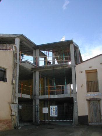 Estructuras de viviendas