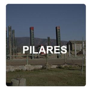 Pilares de hormigón